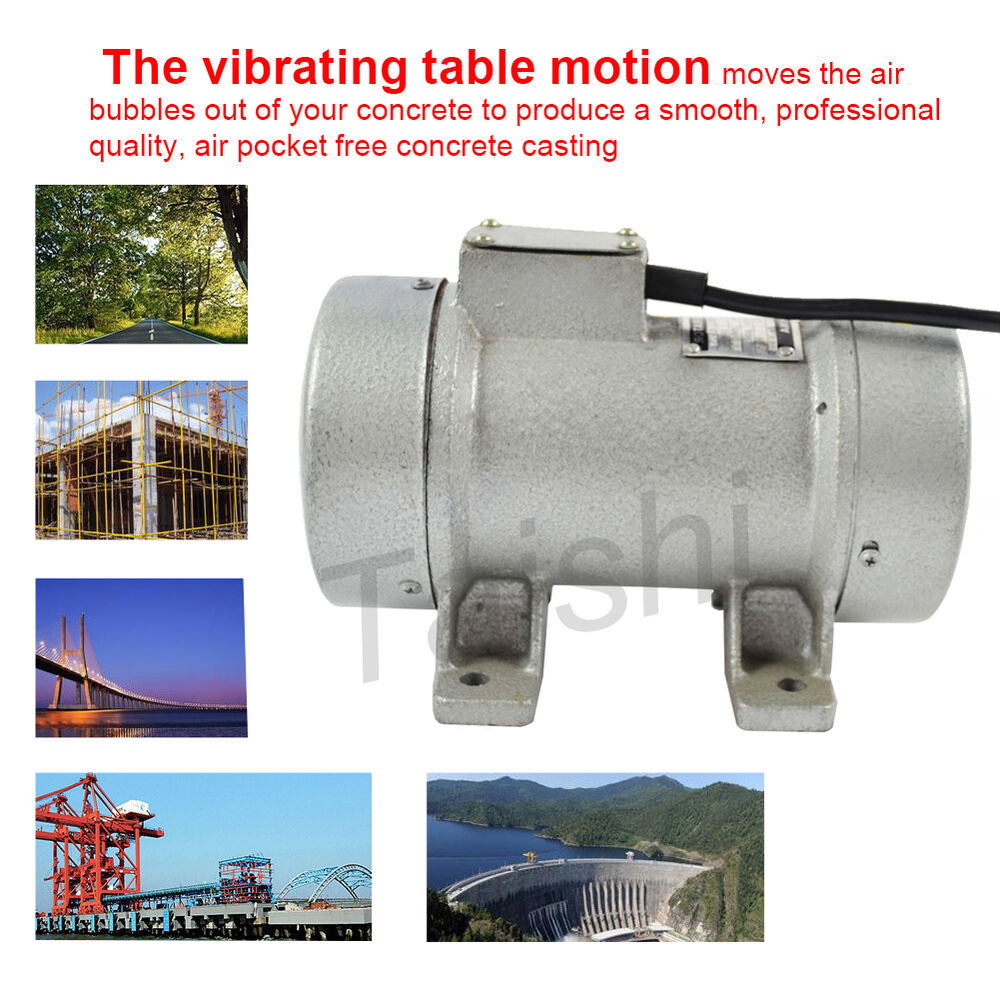 concrete table vibrator