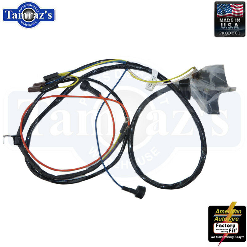 wire harness for 1968 chevy corvette 1968 camaro chevy ii / nova engine wiring harness v8 sb w ... a wiring harness for 1968 chevy nova