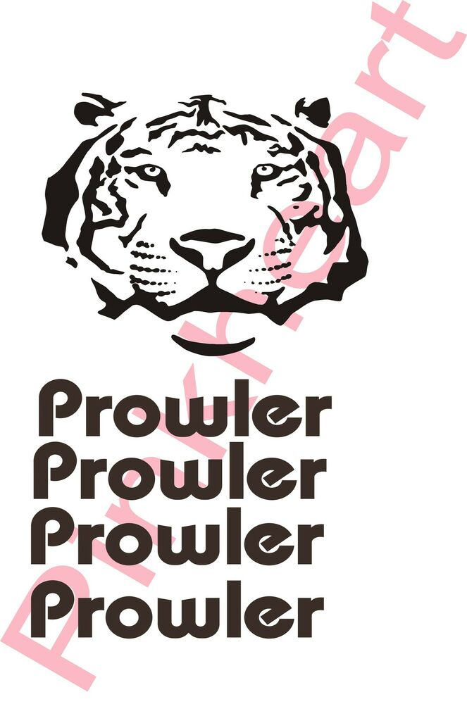 fleetwood prowler large rv sticker decal graphics trailer