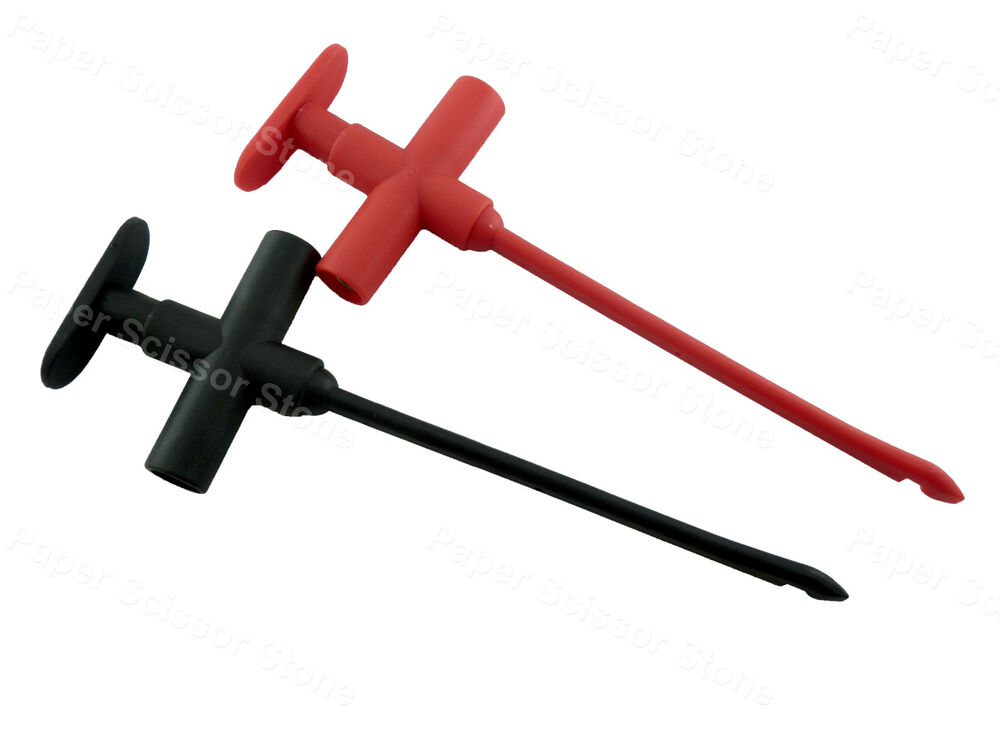 Insulated Probe To Measure Current On Wire : Pcs insulation piercing wire clip test probe ebay