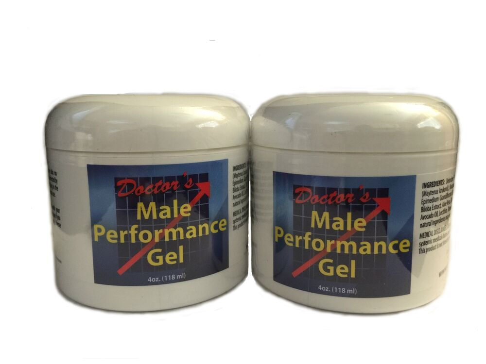 DOCTORS NATURAL MALE PERFORMANCE GEL TESTOSTERONE BOOSTER