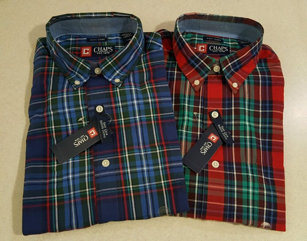 Green Plaid Shirts For Men