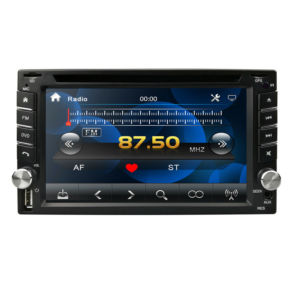 2din Touch Screen Car Stereo Dvd Player Radio Sd Usb Bluetooth Tv Jl Audio Xd Acs60 6 Gauge Amplifier Amp Wire Installation Kit Speaker Gps Navigation 889148194501 Ebay