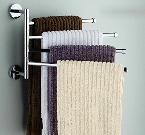 Bathroom towel bar rack holder shelf set stand accessories for Bathroom accessories stand