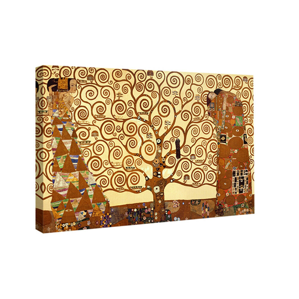 Tree of life klimt art print painting reproduction on for Home decorations on ebay
