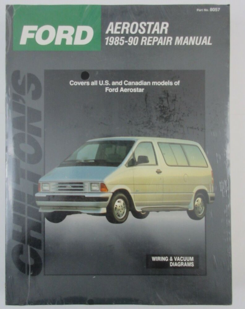 chiltons ford aerostar 1985 1990 repair manual all us and canadian rh ebay com Lifted Ford Aerostar 1997 Ford Aerostar Minivan