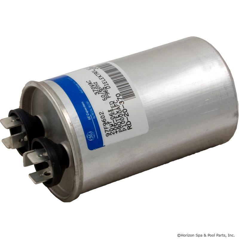 pool spa motor pump run capacitor 20mfd 370v rd 20 370 1 3