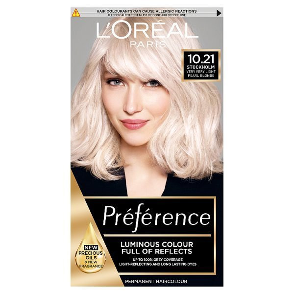 l 39 oreal recital preference stockholm very light pearl blonde 3600521044094 ebay