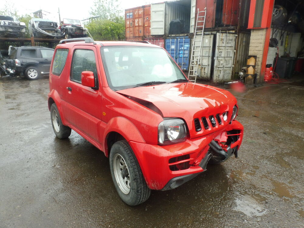 2008 suzuki jimny 1 3 benzina in rosso rottura per manuale completo asse anteriore ebay. Black Bedroom Furniture Sets. Home Design Ideas