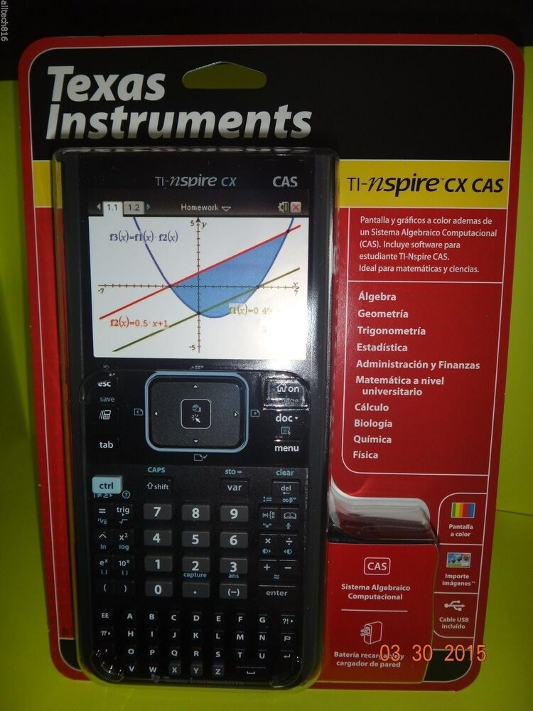 brand new ti nspire cx cas graphing calculator in. Black Bedroom Furniture Sets. Home Design Ideas