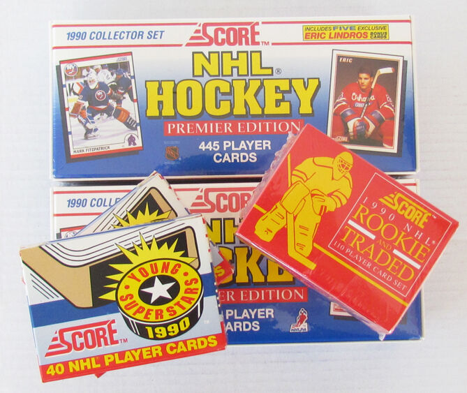1990-91 Score Hockey Factory Sets (2), Young Superstars