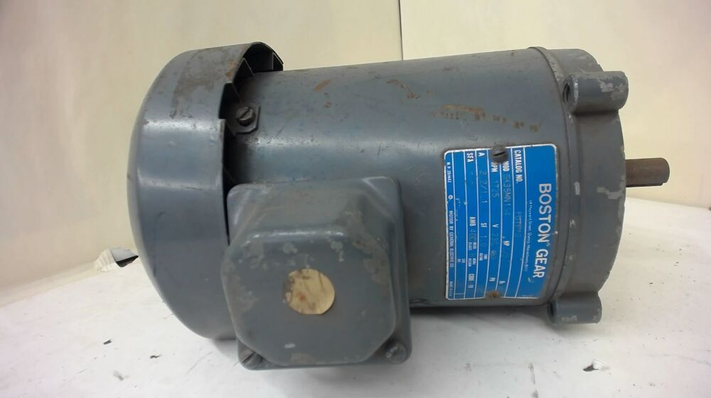 Boston Gear 1 2hp 5k35mn134 Ac Motor 1725rpm 4p