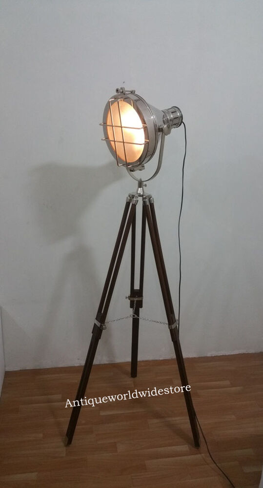 Vintage Old Strand Film Movie Theater Stage Lamp Light