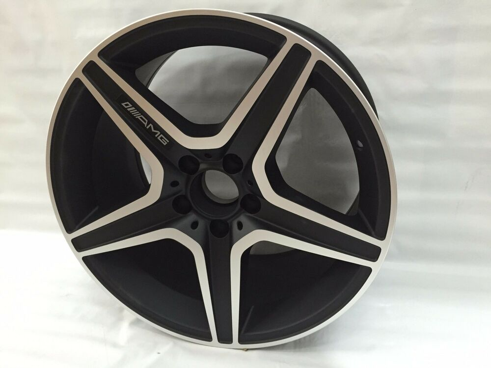 New 18 amg rims wheels fits mercedes benz c class c300 for Mercedes benz wheels rims