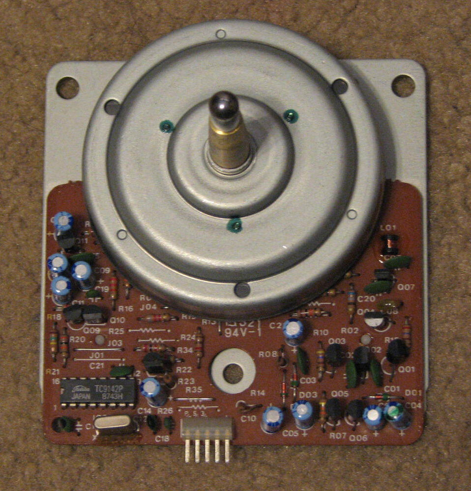 Onkyo cp 1046f turntable parts direct drive motor ebay for Direct drive turntable motor