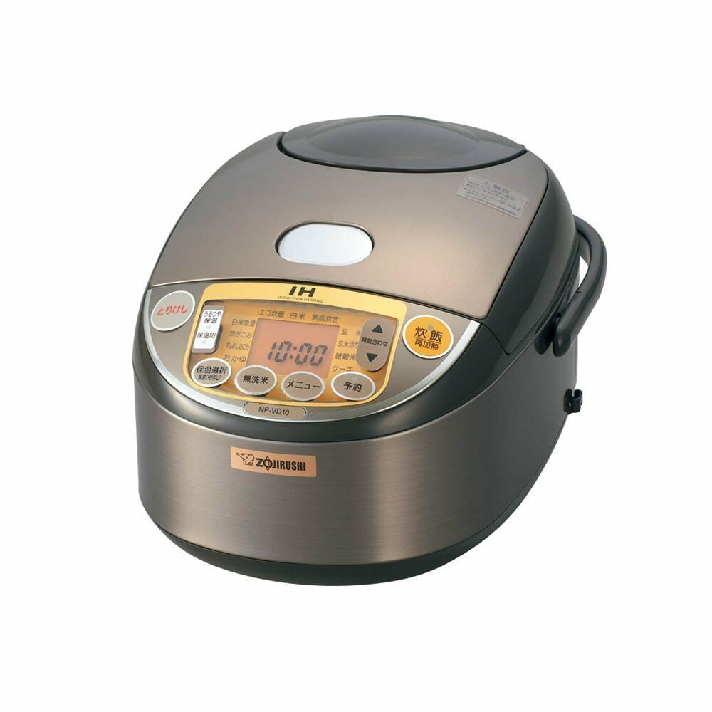 how to cook rice in induction stove with pressure cooker