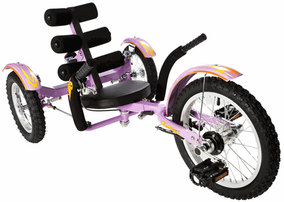 """New Mobito 16"""" 3 WHEEL Tricycle RECUMBENT Bike for Kid"""