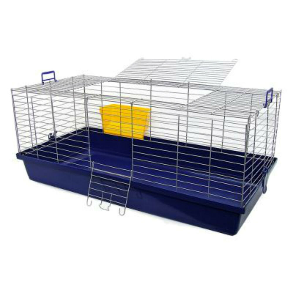 Maxi xxl small pet cage guinea pig rabbit sturdy large for Outdoor guinea pig cage