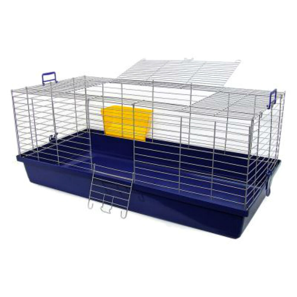 Maxi xxl small pet cage guinea pig rabbit sturdy large for Large indoor guinea pig cages
