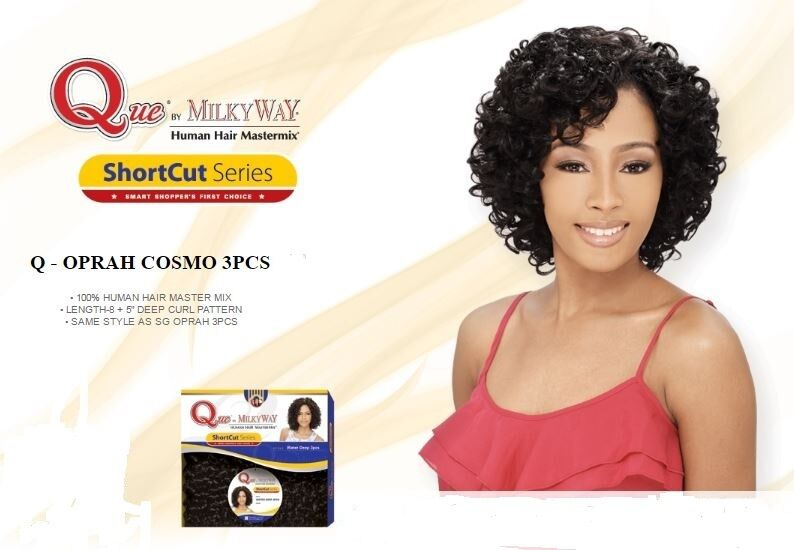 Milky Way Human Hair Ebay Q Oprah Cosmo 3pcs Que By