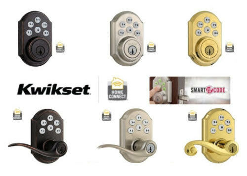 Kwikset 910 Or 912 Smartcode Home Connect Deadbolt Or