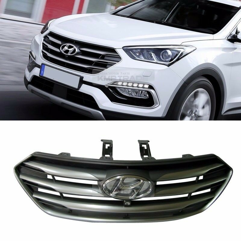 Aftermarket Hyundai Parts: OEM Front Radiator Hood Grille W Camera Holl For HYUNDAI