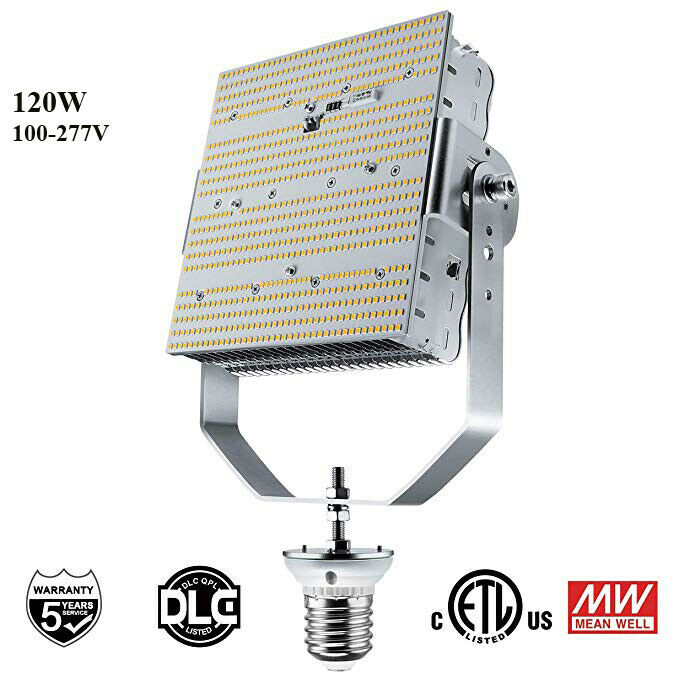 120w Led Parking Lot Gas Station Light Replace 400w Mh Hps