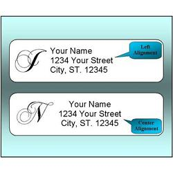 Kyпить 400 Personalized Return Address Labels.  1/2 x 1.75 Inch Monogrammed Labels. на еВаy.соm