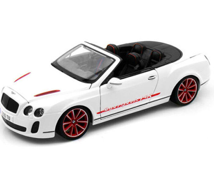 Maisto Bentley Continental Supersports Convertible ISR 1