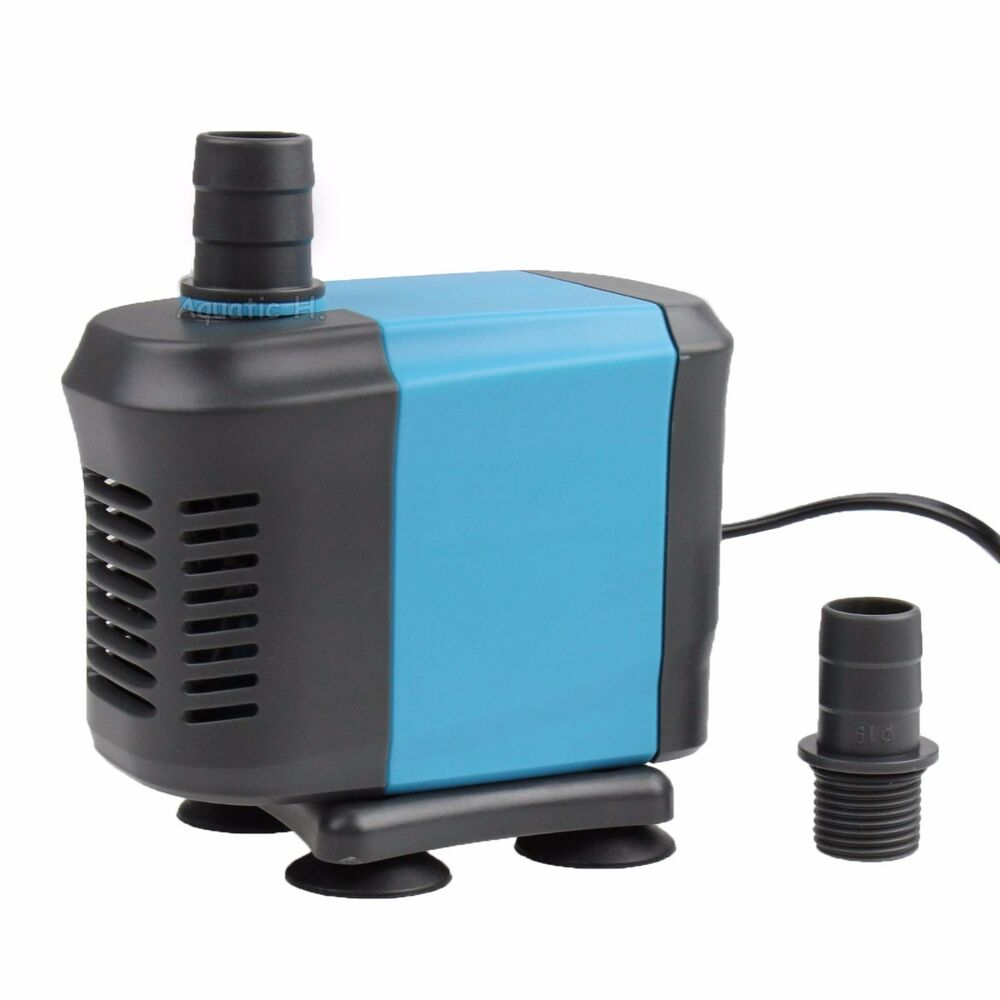 Submersible water pump 660 gph aquarium fish pond for Fish water pump