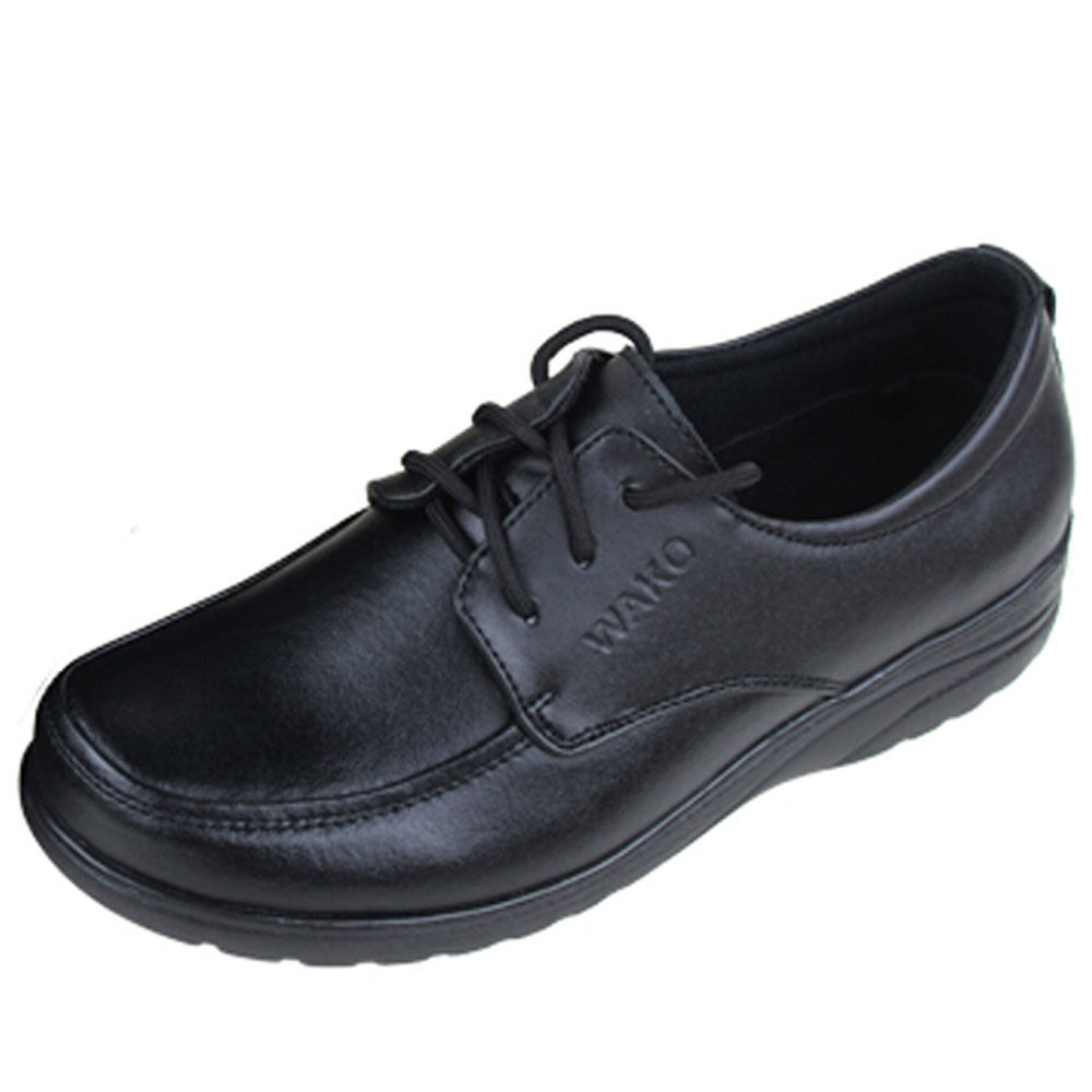 Women's Chefs Shoes Kitchen Nonslip Shoes Leather Safety