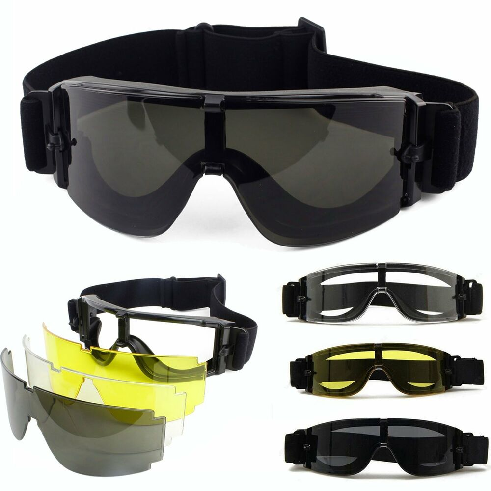 Airsoft Eye Protection With Glasses