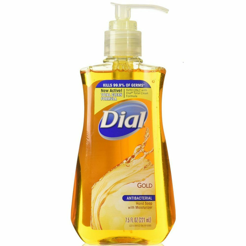 Dial Antibacterial Liquid Hand Soap Gold 7 50 Oz Pack Of