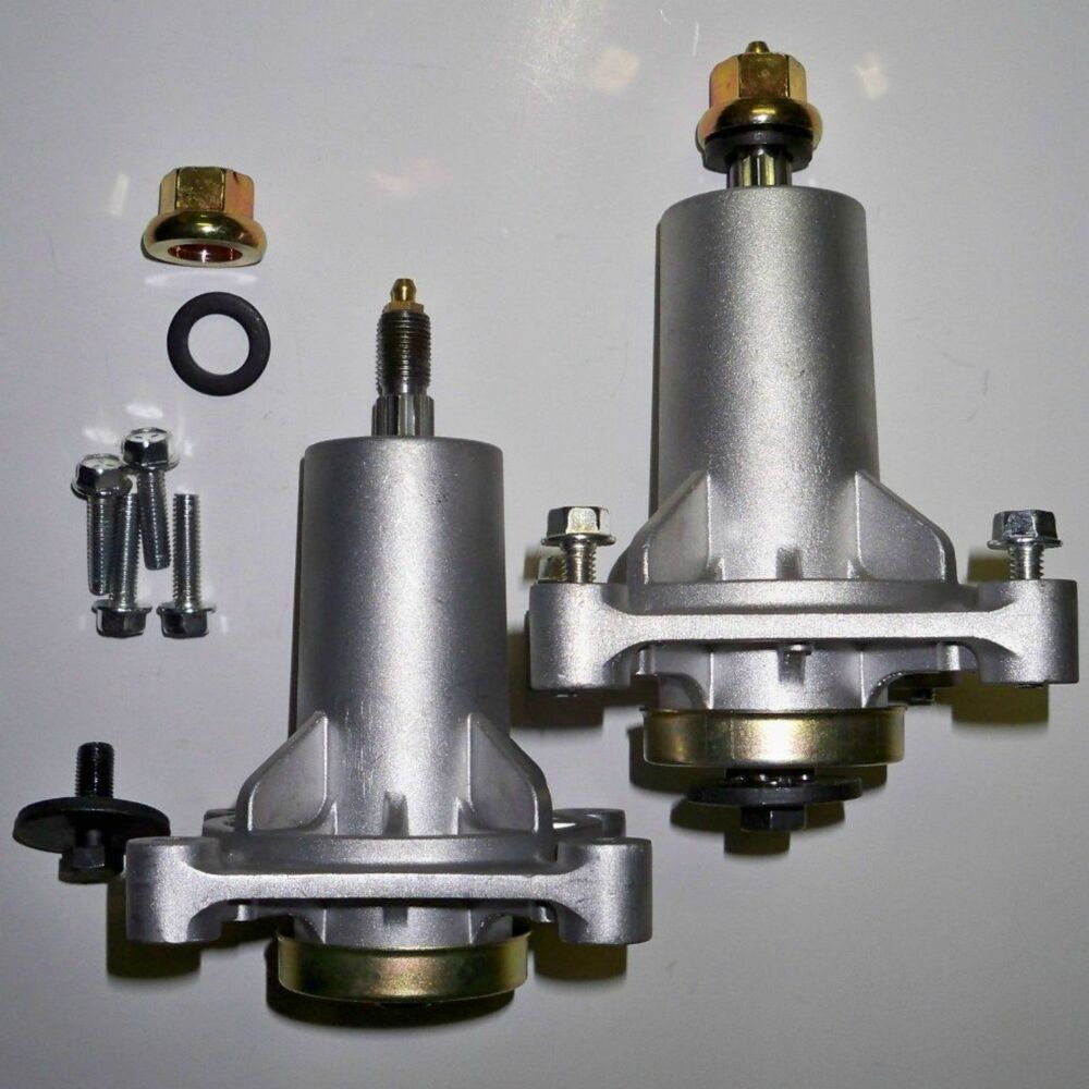 Spindle Assembly 2pk Grease Fittings Craftsman Husqvarna