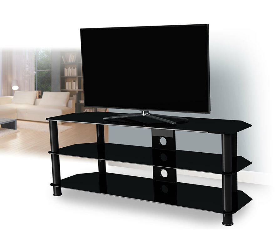 Diy Mirror Tv Cabinet: TV Stand Cabinet Suitable For LCD LED Plasma 26 To 65