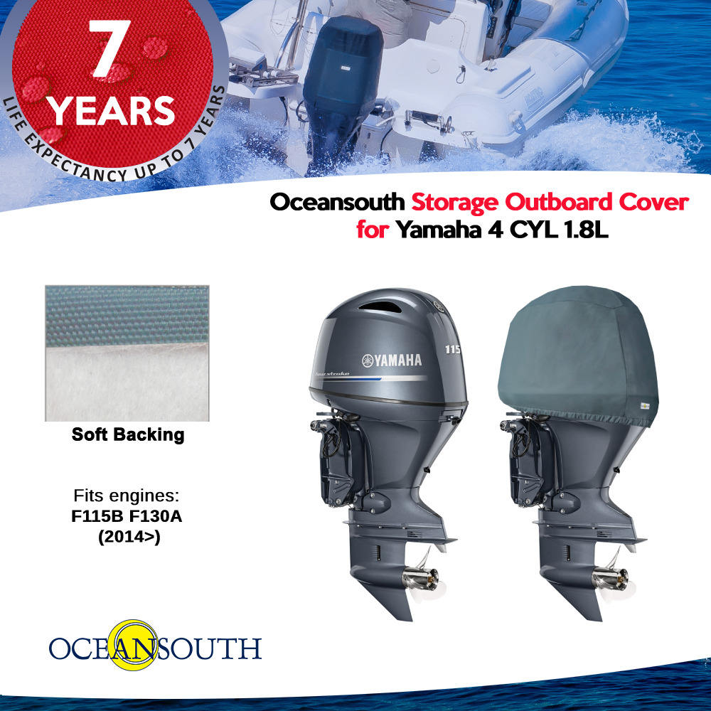 Yamaha Outboard Storage Half Cover In Line 4 Cylinder1 8l