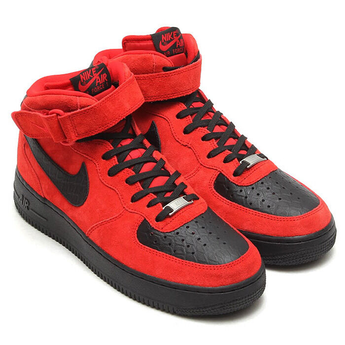 Nike Mens Red Mid Shoes