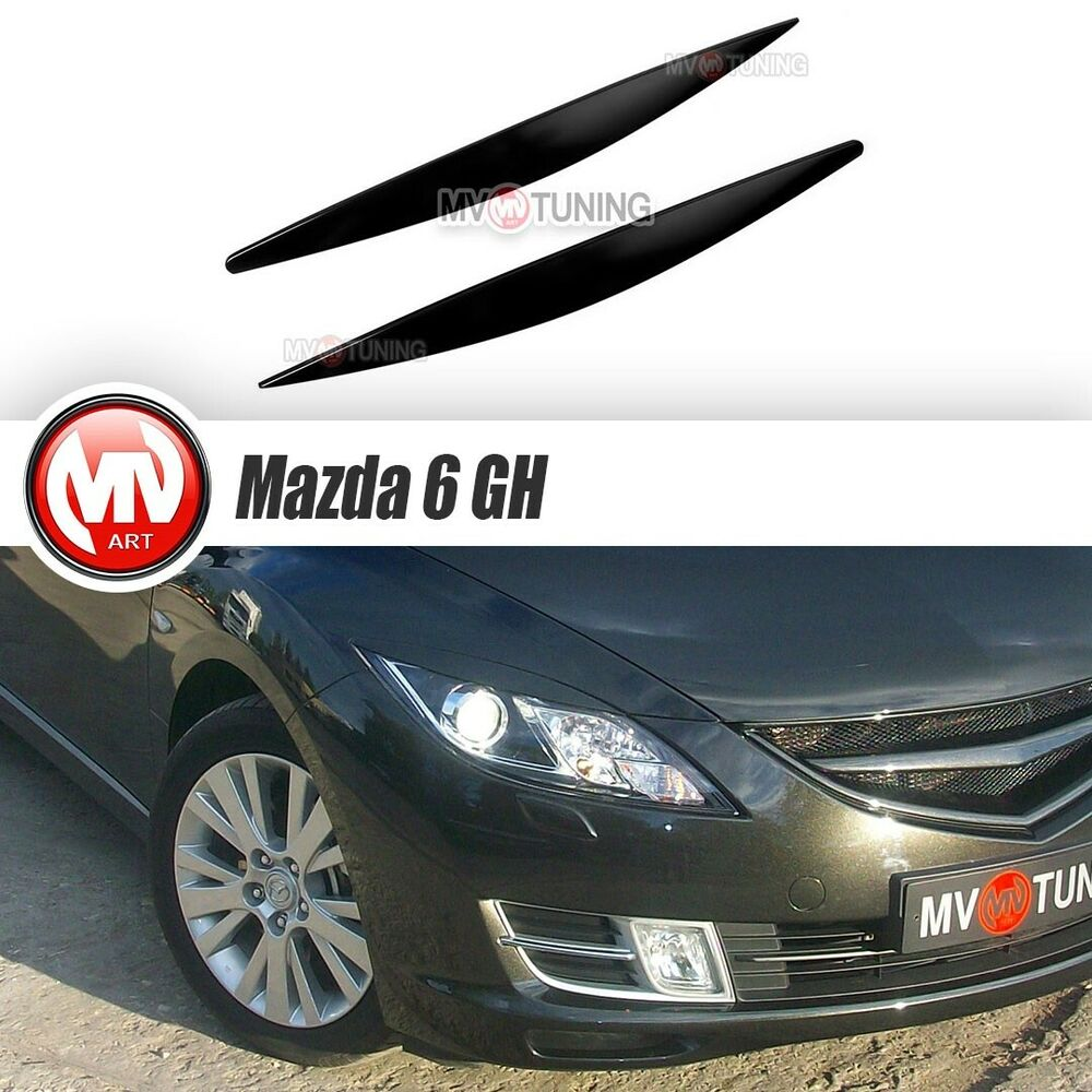 Front Eyelids Headlights Covers Mazda 6 Gh Atenza 2008