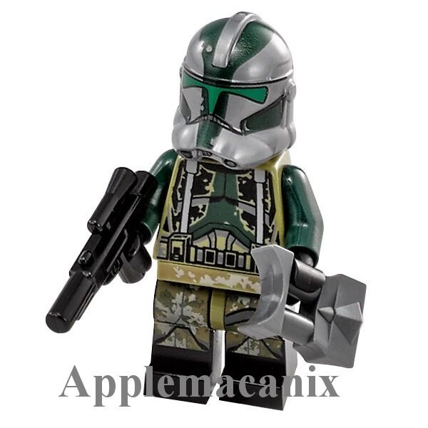 new lego star wars clone turbo tank 75151 clone commander gree minifigure 2016 ebay. Black Bedroom Furniture Sets. Home Design Ideas