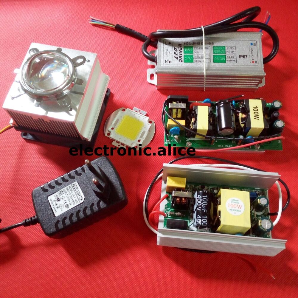 100w 100 Watt High Power Led Diy Kits 100w Led Driver