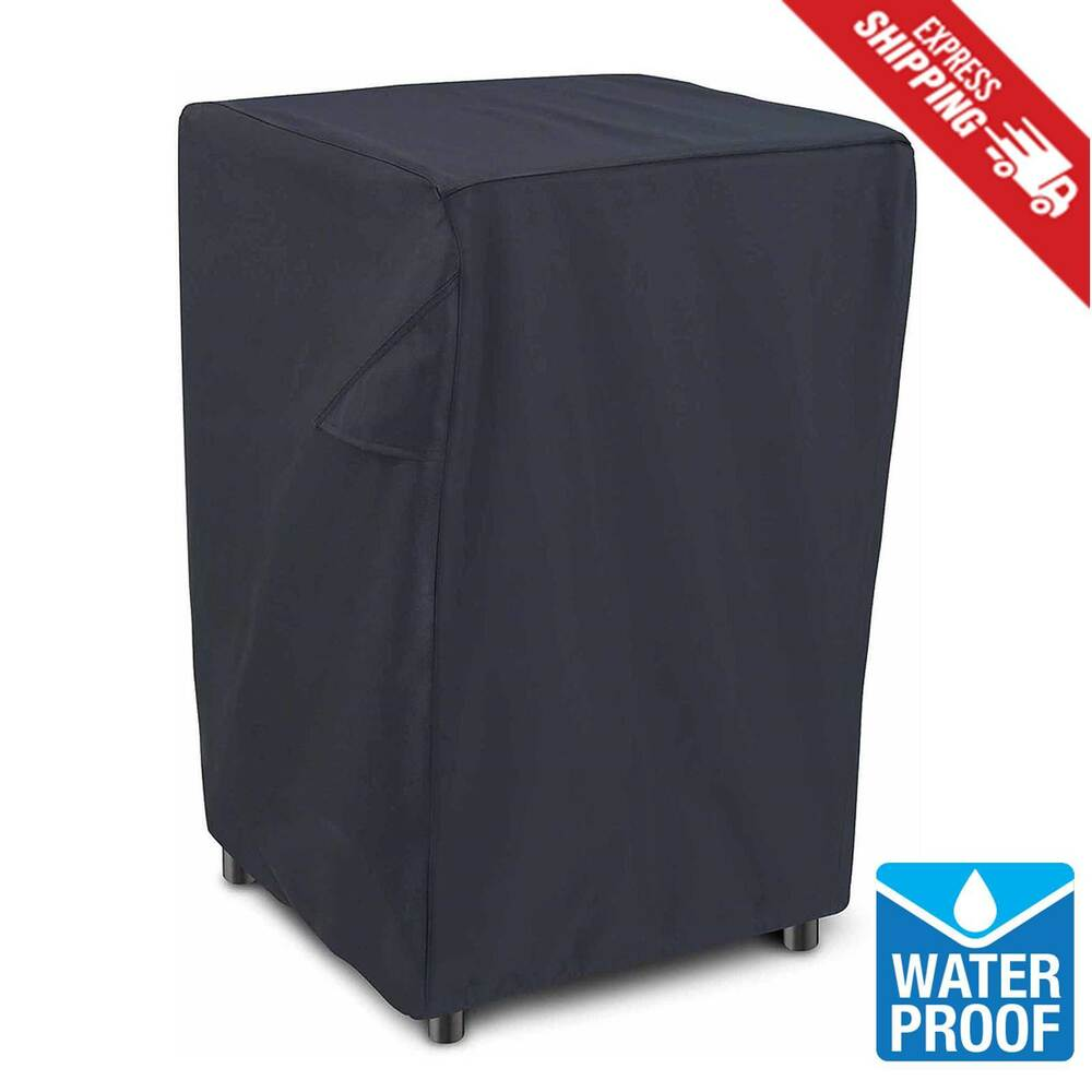 Electric Smoker Cover Square 30 Quot Black Heavy Duty