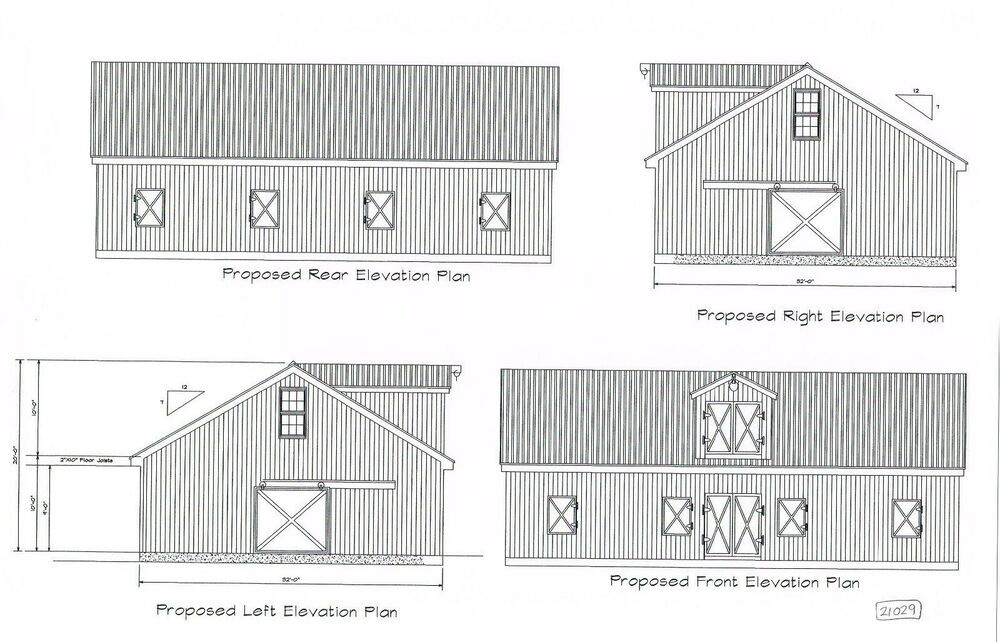 48 39 x 32 39 horse barn pole barn pole stall barn plan for 24 x 32 pole barn plans