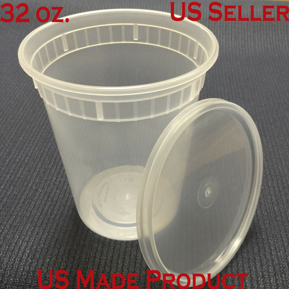 deli food containers round soup cup plastic 32 oz with. Black Bedroom Furniture Sets. Home Design Ideas