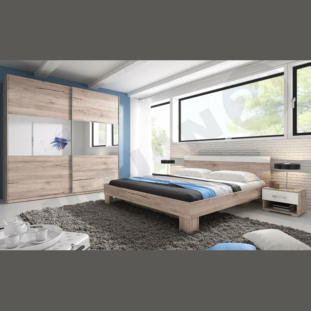 schlafzimmer pahlen nachtisch kleiderschrank eiche komplett 10 ebay. Black Bedroom Furniture Sets. Home Design Ideas