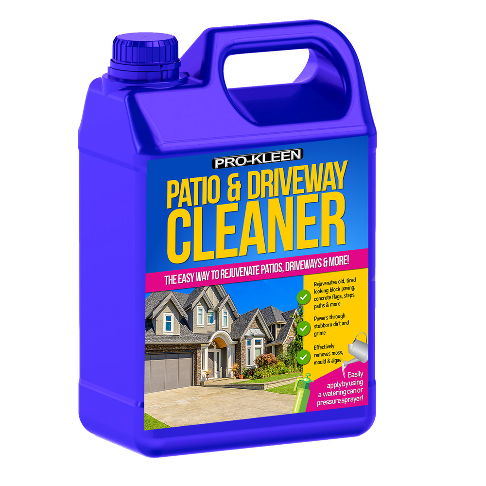 Patio cleaner stone concrete slabs flags path block paving for Cleaning concrete paths