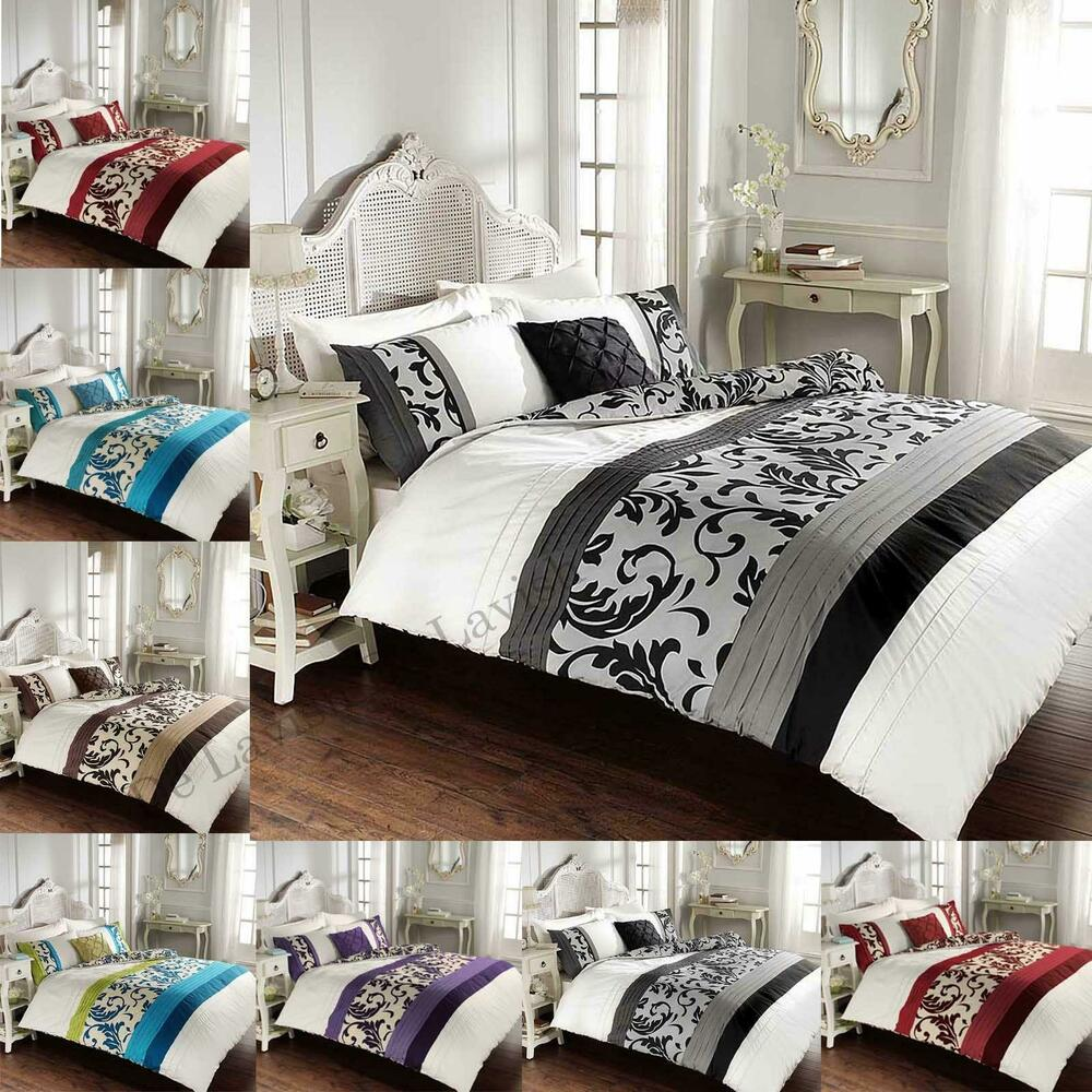 Luxury Duvet Cover Sets King Size Double Super Single With Pillow
