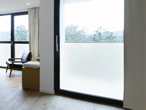 Dusted Crystal Frost Vinyl Privacy Frosted Window Film