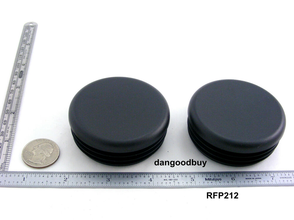 Black plastic finishing plugs quot outside diameter