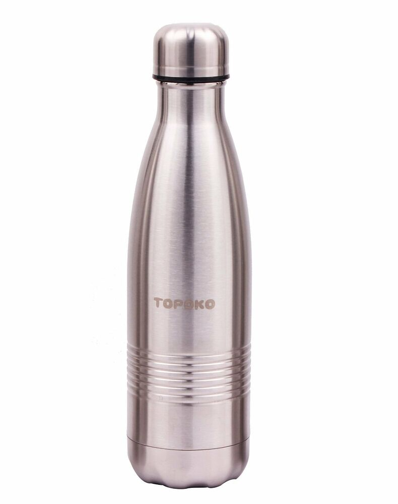 Cola Style Vacuum Water Bottle Stainless Steel Double Wall