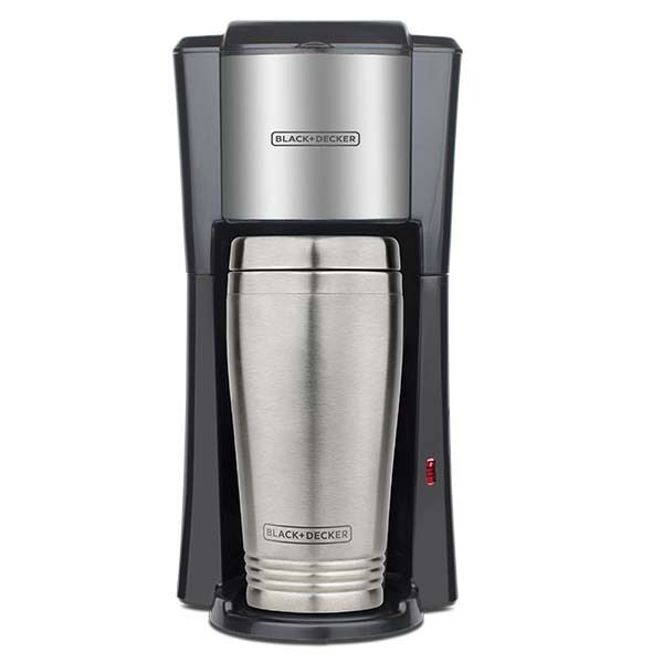 Single Cup Coffee Maker Travel Mug : Black & Decker Single-Serve Coffee Maker with 2 16-Ounce Travel Mug 220 Volts eBay